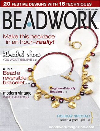 2008 Dec 2007 - January 2008 - BEADWORK magazine Volume 11 Numbe