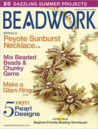 2008 Jun-Jul - BEADWORK magazine Volume 11 Number 4 (Used)