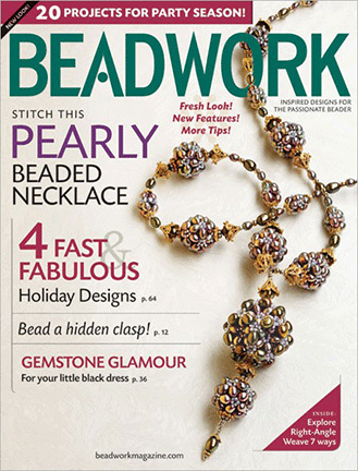 2009 Dec 2008 - January 2009 - BEADWORK magazine Volume 12 Numbe