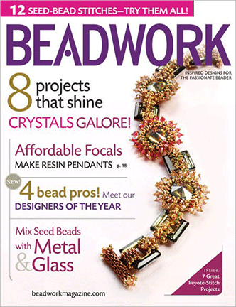 2009 Feb-Mar - BEADWORK magazine Volume 12 Number 2 (Used)