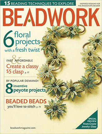 2009 Apr-May - BEADWORK magazine Volume 12 Number 3 (Used)