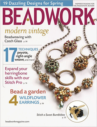 2010 Apr-May - BEADWORK magazine Volume 13 Number 3 (Used)