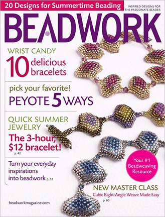 2010 Jun-Jul - BEADWORK magazine Volume 13 Number 4 (Used)
