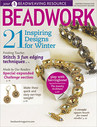 2011 Dec 2010 - Jan 2011 - BEADWORK magazine Volume 14 Number 1