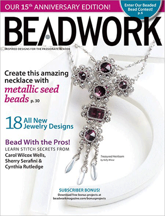 2012 Dec 2011 - January 2012 - BEADWORK magazine Volume 15 Numbe