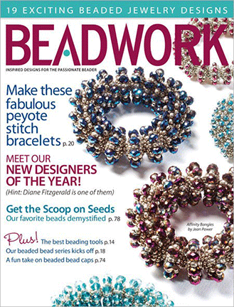 2012 Feb-Mar - BEADWORK magazine Volume 15 Number 2 (Used)