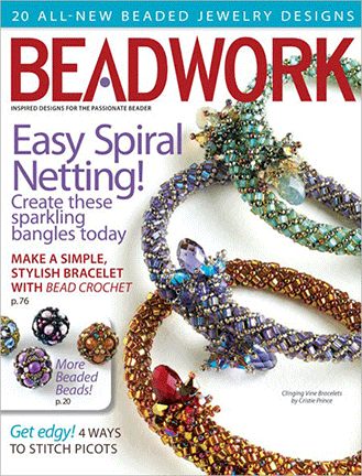 2012 Apr-May - BEADWORK magazine Volume 15 Number 3 (Used)