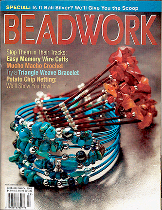2003 Feb-Mar - BEADWORK magazine Volume 6 Number 2 (Used)