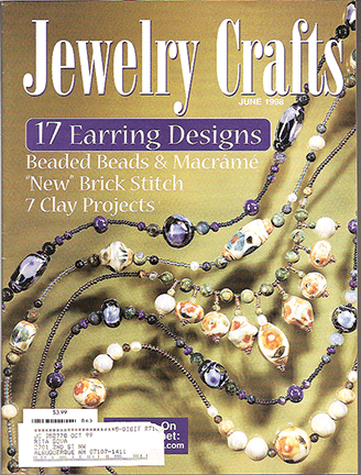 1998 June, Jewelry Crafts Magazine (Used)