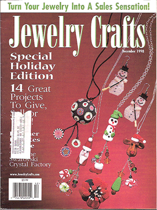1998 December, Jewelry Crafts Magazine (Used)