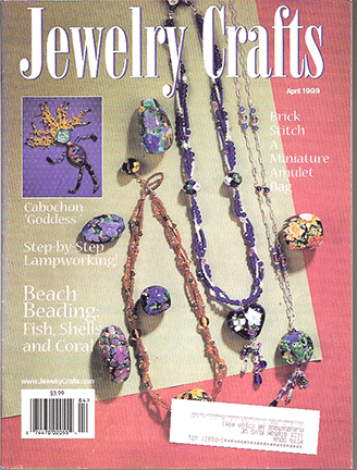 1999 April, Jewelry Crafts Magazine (Used)