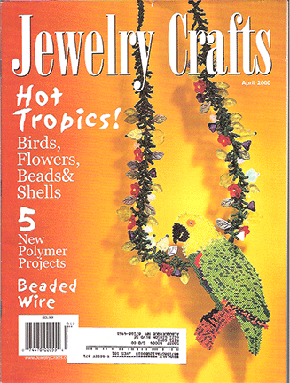 2000 April, Jewelry Crafts Magazine (Used)
