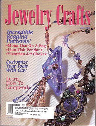 2000 June, Jewelry Crafts Magazine (Used)