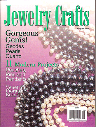 2000 August, Jewelry Crafts Magazine (Used)