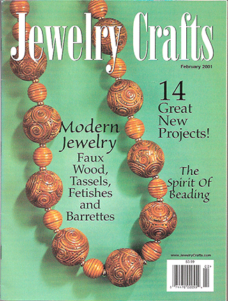 2001 February, Jewelry Crafts Magazine (Used)