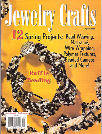 2001 April, Jewelry Crafts Magazine (Used)