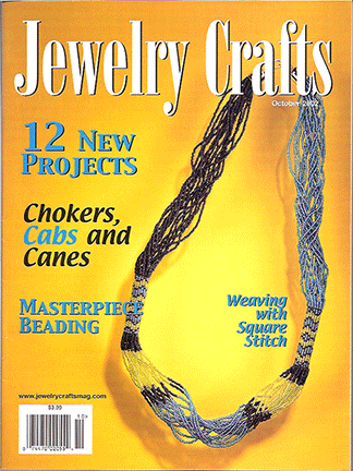 2002 October, Jewelry Crafts Magazine (Used)