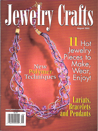 2003 August, Jewelry Crafts Magazine (Used)