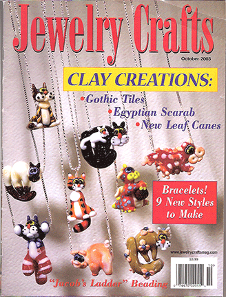 2003 October, Jewelry Crafts Magazine (Used)