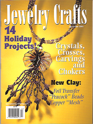 2003 December, Jewelry Crafts Magazine (Used)