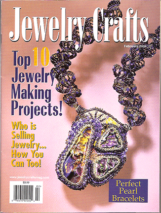 2004 February, Jewelry Crafts Magazine (Used)