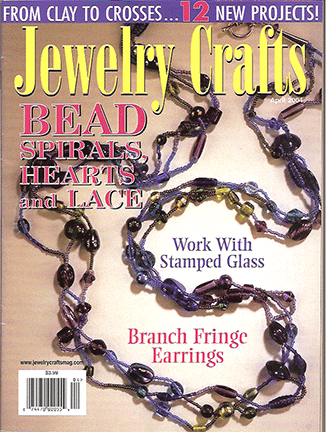 2004 April, Jewelry Crafts Magazine (Used)