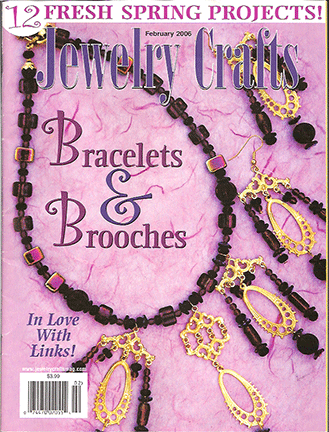 2006 February, Jewelry Crafts Magazine (Used)