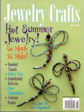 2006 June, Jewelry Crafts Magazine (Used)