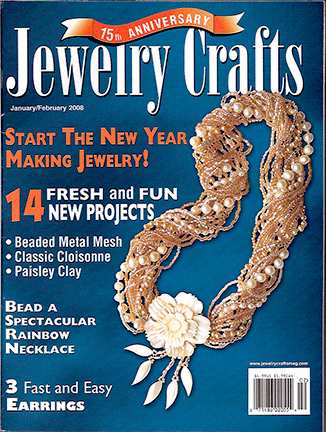 2008 Jan-Feb, Jewelry Crafts Magazine (Used)