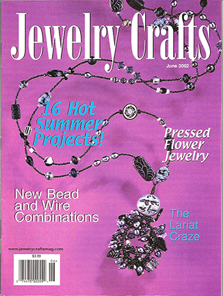 2002 June, Jewelry Crafts Magazine (Used)