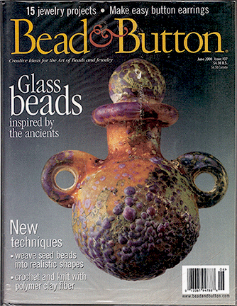 037 Bead & Button Magazine, 2000 June, #37 (Used)