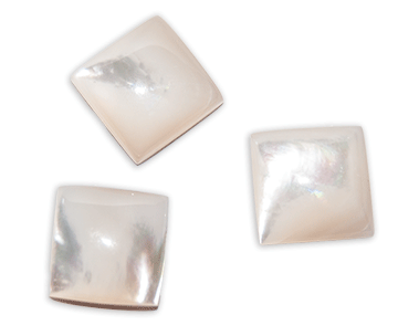 Cabochon, 12mm x 12mm, Square (3)