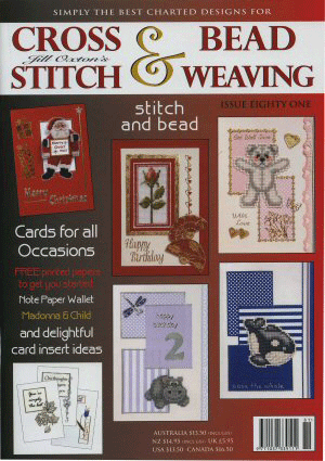 Jill Oxton's Cross Stitch & Bead Weaving Magazine, Issue 81