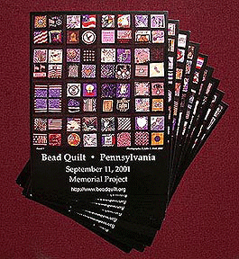 Bead Quilt Project Postcard Pack