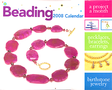 Beading 2008 Calendar, Wall, Kalmbach Publishing Co.