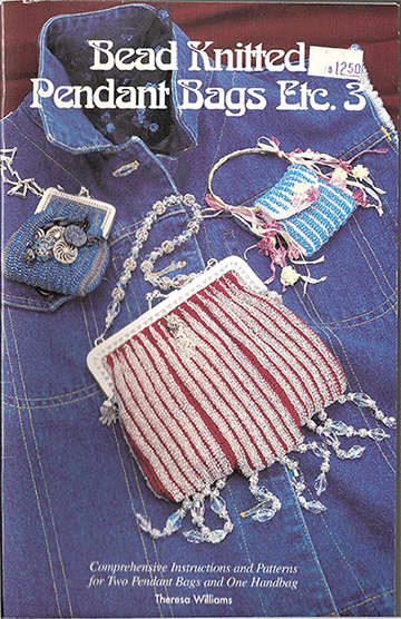 Bead Knitted Pendant Bags Etc. 3 Book (Like NEW)