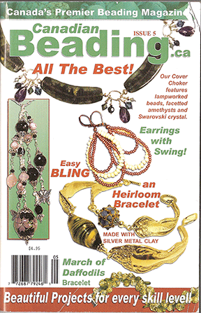 Canadian Beading Magazine, Issue 5, 2009 January (Used)