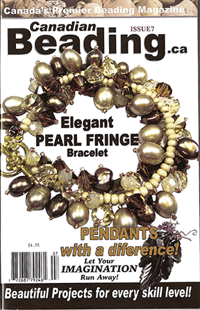 Canadian Beading Magazine, Issue 7 (Like NEW)
