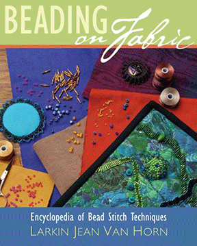 Beading on Fabric, Spiral Bound Hardcover (Like NEW)