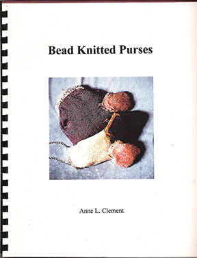 Bead Knitted Purses, Anne L. Clement (Like NEW)