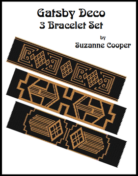Deco Gatsby 3 Bracelets Patterns Set