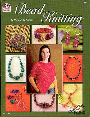 Bead Knitting by Mary Libby Neiman (Like NEW)