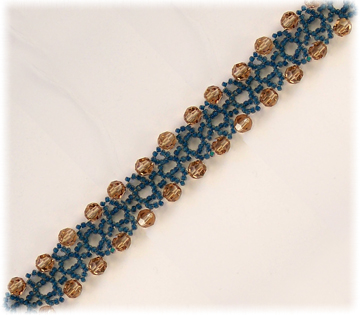 Blueberries & Sherry Bracelet