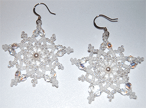 Snowflake Earring Earrings, Large
