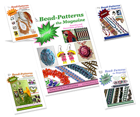 Individual Issue of Bead-Patterns the Magazine on CD