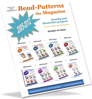 Bead-Patterns the Magazine 2005-2012, 42 Issues (CD)