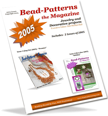 2005 Issues of Bead-Patterns the Magazine (CD)