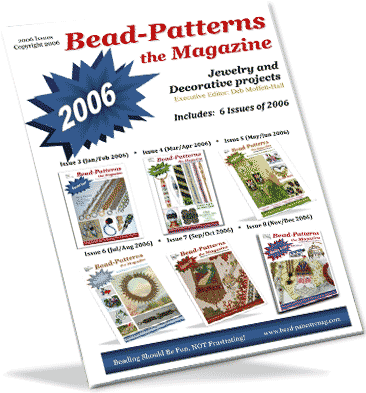2006 Issues of Bead-Patterns the Magazine (CD)