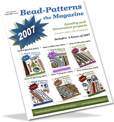 2007 Issues of Bead-Patterns the Magazine (CD)