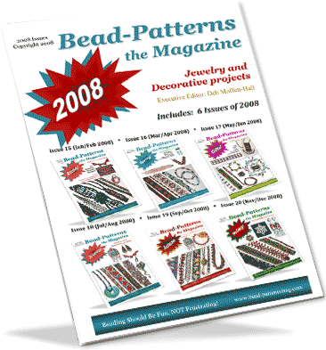 2008 Issues of Bead-Patterns the Magazine (CD)